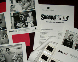 'Sugar & Spice' Press Kit+ 6 Photo Sheets/13 Slides-Mint! - $9.85