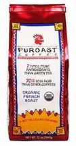 Puroast Ground Coffee 12 ounce bags (Organic French Roast, 6 Bags) - $93.09