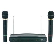 New Naxa NAM-984 Professional Dual Wireless Microphone System - $40.47