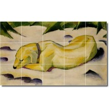 Franz Marc Animals Painting Tile Murals BZ05709. Kitchen Backsplash Bathroom Sho - $150.00+