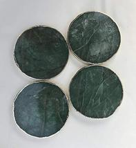 Sage Green Agate Coasters - Set of 4 Large Coasters/Personalised Momentos - $46.92