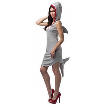 Adult Hooded Shark Dress Costume One Size - $26.68