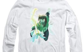 Green Lantern Comic Book Character DC Comics long sleeve graphic t-shirt GL389 image 3