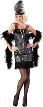 InCharacter Flirty Flapper Adult Women's 1920's Halloween Costume 11017 - $32.95
