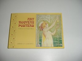 Art Nouveau Posters: Postcard Book [Diary] Library of Congress - $45.26