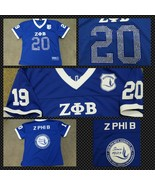 ZETA PHI BETA  short sleeve Football jersey Z-P... - $54.15