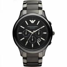 Emporio Armani AR1451 Classic Ceramic Chronograph Men's Analogue Watch - $111.05