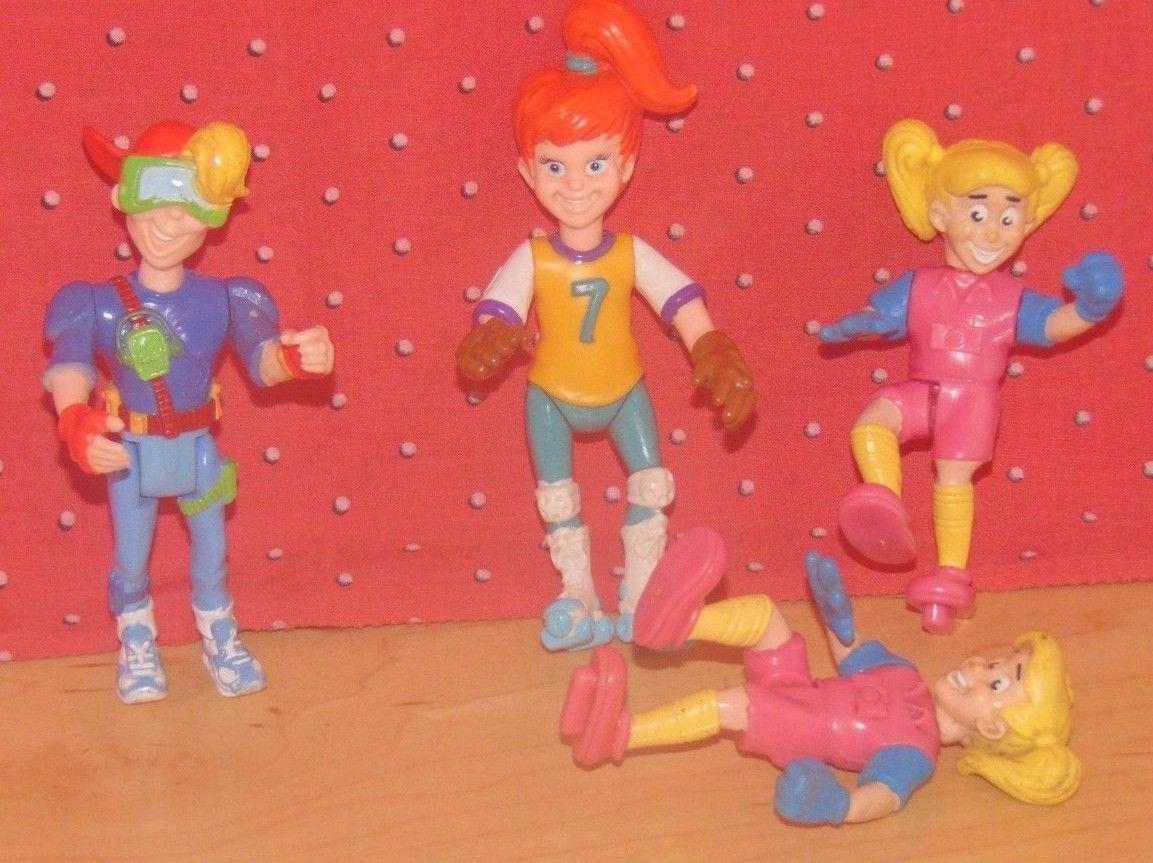 Burger King Kids Club Toys Disney/'s Pocahontas Set Figures Dolls 1995 Lot Of 4