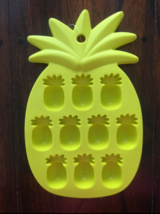 PINEAPPLE SUMMER TROPICAL FRUIT ICE TRAY FONDANT CHOCOLATE CANDY MOLD - $7.91