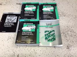 1993 toyota mr2 mr 2 workshop repair service shop manual set 93 oem EWD + - $346.13