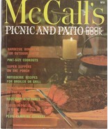 McCall's Picnic and Patio Book 1978 Vintage Cookbook M18 Tye Gibson - $5.93
