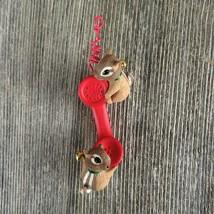Vintage Telephone Chipmunk Christmas Ornament Hallmark Friendship Line 1... - $29.99