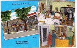 Tennessee Postcard Fayetteville Hotel Largen Multi View - $2.25