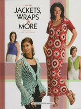 "Hard Covered Book ""Jackets, Wraps & More"" - House of White Birches - Gen... - $18.00"