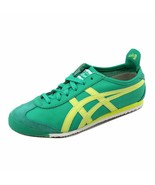 ONITSUKA TIGER BY ASICS WOMEN'S MEXICO 66 MINT LEAF/SUNNY LIME HL474 6783 - $67.49
