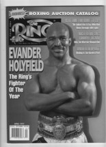 The Ring April 1997 boxing magazine. Evander Holyfield - $20.21