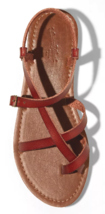 Universal Thread Women's Brown Lavinia Toe Wrap Thong Summer Sandal NEW image 3