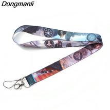 100% Quality P1917 Dongmanli Wholesale 24pcs/lot Viking Rune Keychain Lanyard Badge Id Lanyards/ Mobile Phone Rope/ Key Lanyard Neck Straps Key Chains Jewelry & Accessories