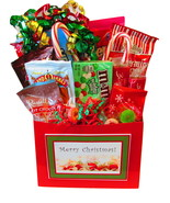 Merry Christmas Gift Basket by The Candy Vessel - $25.00