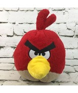 Angry Birds RED Plush Soft Round Gamer Toy Stuffed Animal Rovio Flaw-No ... - $19.79