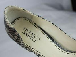Franco Sarto L Dash Mujer Mediano Tacones Punta Abierta Animal Estampado Zapatos image 9