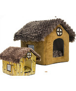 Teddy kennel pet kennel washable cottages Pomeranian Bichon small dog house - $29.69+