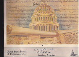 We the People 1979 Calendar Signed by Frank Horton Congress New York State - $17.93