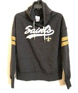 NFL Teens Official New Orleans Saints Hooded Sweatshirt Pullover Size M 7/9 - $18.95