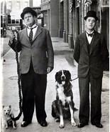 Laurel and Hardy TKK Vintage 18X24 BW TV Memorabilia Photo - $35.95