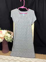 Baby Gap Size 5 Little Girls Grey Sweater Dress - $15.00