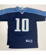 Tennessee Titans Young #10 Reebok Football Jersey Youth Size L (14-16) - $14.22