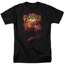 Lord of the Rings shadow  darkness Balrog Mines of Moria graphic tee LOR1008 image 1