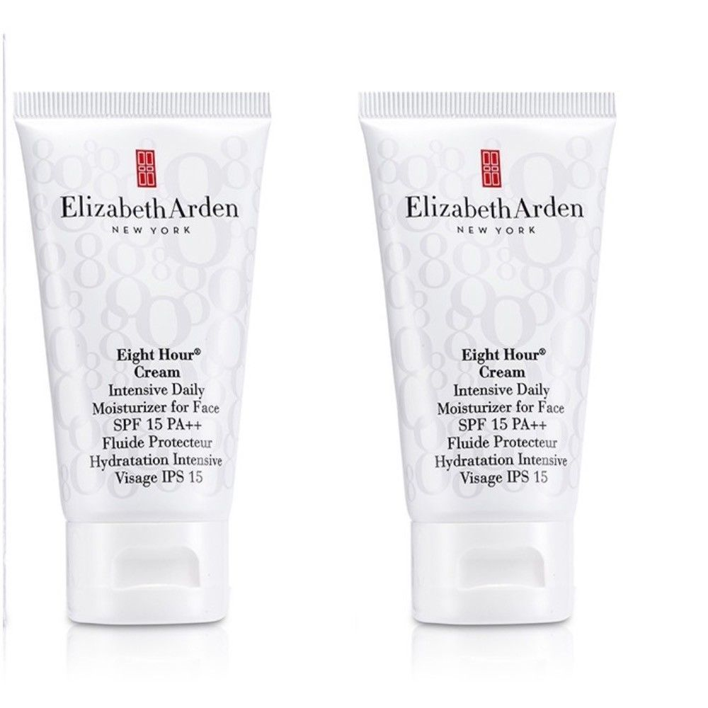 2x ELIZABETH ARDEN Eight Hour Cream Hand Treatment 0.5 oz Sample Size LOT OF 2