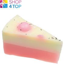 Sweet Star Surprise Soap Cake Slice Bomb Cosmetics Lychee Handmade Natural New - $6.03
