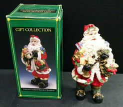 """Gift Collection Hand-Crafted Santa Claus Figurine, Resin, 8"""" Tall, Resin - $4.00"""