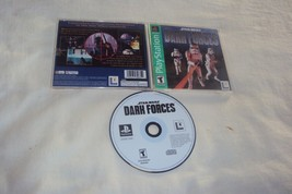 STAR WARS DARK FORCES GH Playstation PS2 PS3 PS4 Disc Manual Art And Cas... - $9.59