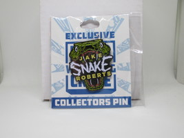 "Jake ""The Snake"" Roberts Collectors Pin Pro Wrestling Crate WWE AEW  - $10.00"