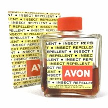 Rare Collectible Vintage Avon Insect Repellent (Unusable) 50% Full - Gre... - $13.98