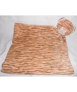 Angel Dear Tabby Cat Baby Security Blanket Tan Brown Striped Kitty Kitte... - $22.26