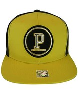 Pittsburgh Men's Patch Style Breathable Snapback Baseball Cap (Gold/Black) - $13.95
