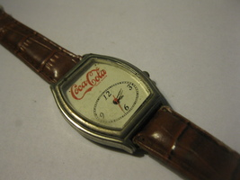 vintage Coca-Cola Wrist Watch w/ Band - $15.00