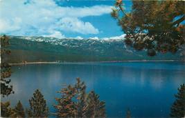 Old Chrome Postcard AH B842 Lake Tahoe Nevada Crystal Bay Mt. Rose HWY Reno - $7.00