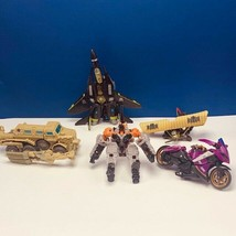 Transformers action figure robot toy Hasbro manual mixed lot Arcee plane... - $33.66