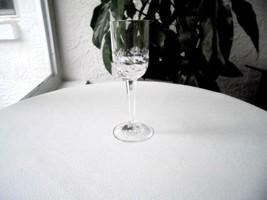 "Hoya Candlewood High Quality Clear Crystal Liquor Glass 4 1/2"" Tall - $11.87"