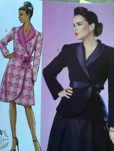 Butterick Sewing Pattern 6105 Ladies Misses Jacket Coat Size 14-22  New - $16.44