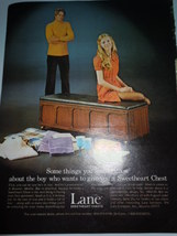 Vintage Lane Sweetheart Chests Print Magazine Advertisement 1971  - $4.99