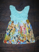 NEW Boutique Disney Characters Girls Sleeveless Dress 2T 3T 4T 5-6 6-7 7-8 - $16.99