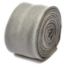 Frederick Thomas avorio crema aderente lana Linen Textured CRAVATTA ft1680