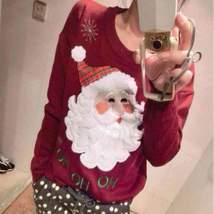 Christmas Santa Pullover For Women - $29.96