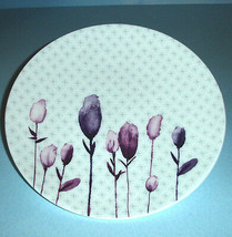 """Lenox Simply Fine Watercolor Amethyst Accent Salad Plate 9.25"""" New - $19.90"""